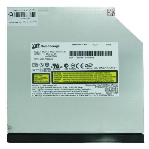 درایو DVD اینترنال هیتاچی مدل GSA-U10N سوپر اسلیم