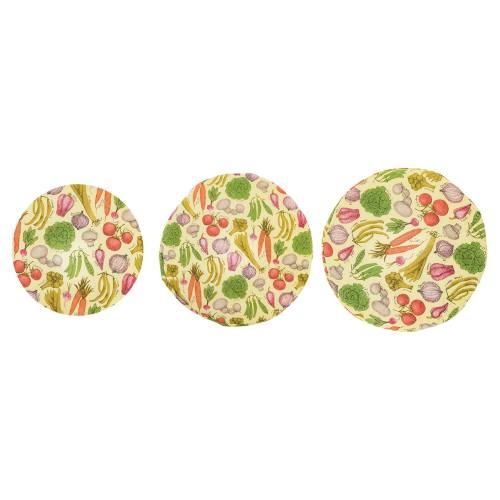 دم کنی رزین تاژ مدل Vegetables بسته 3 عددی