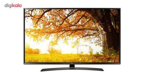 تلویزیون ال ای دی هوشمند ال جی مدل 43UJ66000GI سایز 43 اینچ