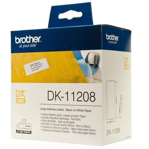 برچسب پرینتر لیبل زن برادر مدل DK-11208