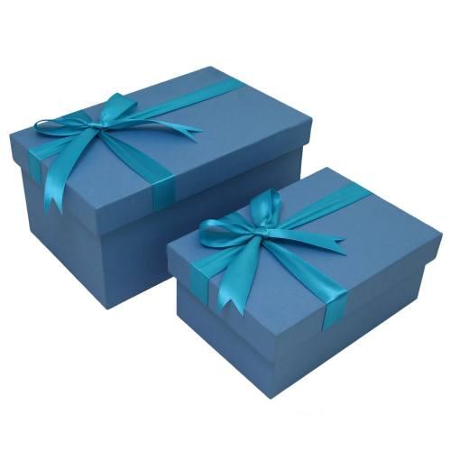 جعبه هدیه چوبی باکسیشو مدل B111 مجموعه 2 عددی
