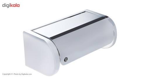 جای دستمال توالت سنی پلاستیک مدل Opal-S