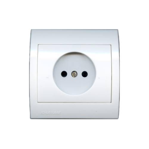 پریز برق سفید خیام الکتریک