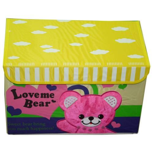 جعبه کودک کوچک کالای خواب متین طرح home1