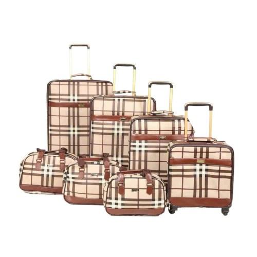 ست هفت عددی ساک و  چمدان شنگ تایلو مدل Stylish