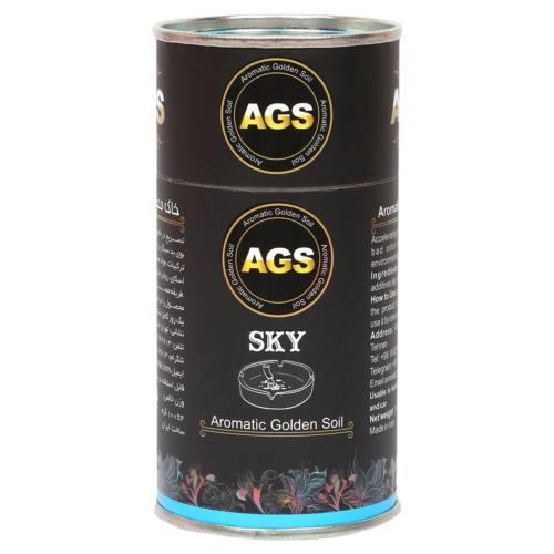خاک معطر طلایی آگس مدل Sky-A وزن 100 گرم