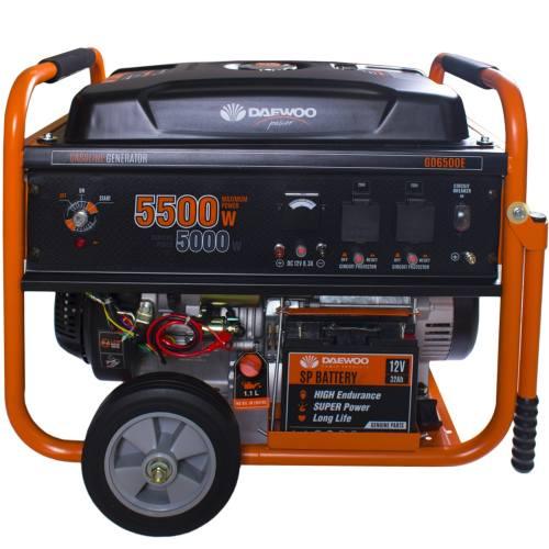 موتور برق 5.5 کیلو وات دوو مدل GD 6500E