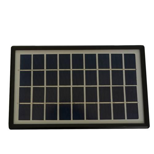 پک پنل خورشیدی، باتری، شارژر و لامپ مدل S6-5000