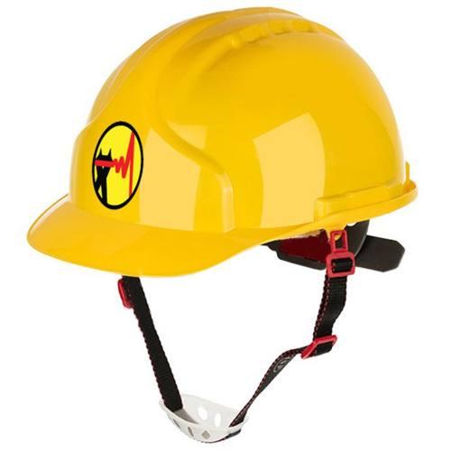 کلاه ایمنی هترمن مدل عایق برق بسته 5 عددی