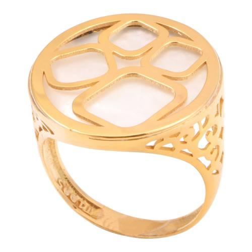 انگشتر طلا 18 عیار سپیده گالری SR0023