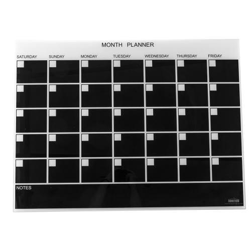 تخته وایت برد شیشه ای هوم تک مدل Month Planner Board سایز 60 × 80 سانتیمتر