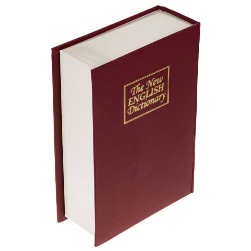صندوق کتابی امن سدید مدل English Dictionary قفل کلیدی