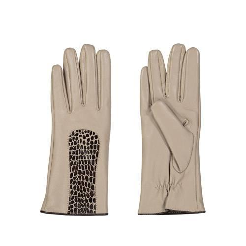 دستکش زنانه چرم مشهد مدل  R174