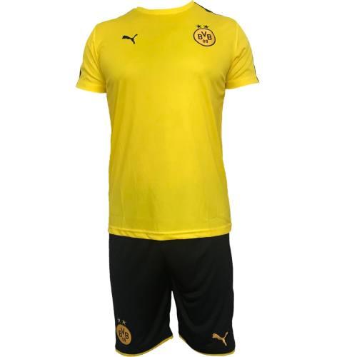 پیراهن و شورت ورزشی مردانه پوما مدل Borussia Dortmund bvb09