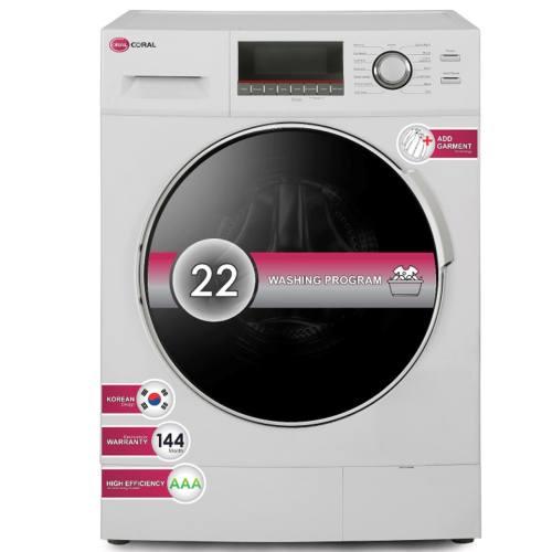 ماشین لباسشویی کرال مدل WF1292 با ظرفیت 9 کیلوگرم