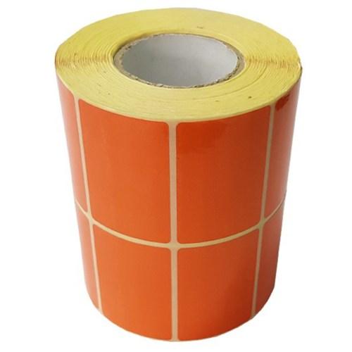 برچسب نارنجی پرینتر لیبل زن مدل 3000 عددی