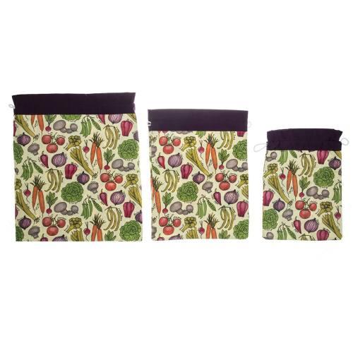 کیسه سبزیجات رزین تاژ مدل Vegetable بسته 3 عددی