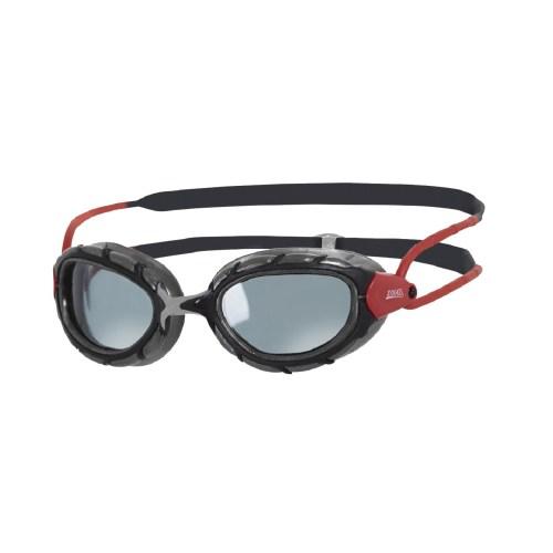 عینک شنای زاگز مدل Predator Polarized Red Grey