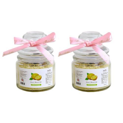 نمک حمام تالیدا مدل لیمو مقدار 200 گرم بسته دو عددی