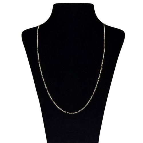 زنجیر طلا 18 عیار ماهک مدل MM0654