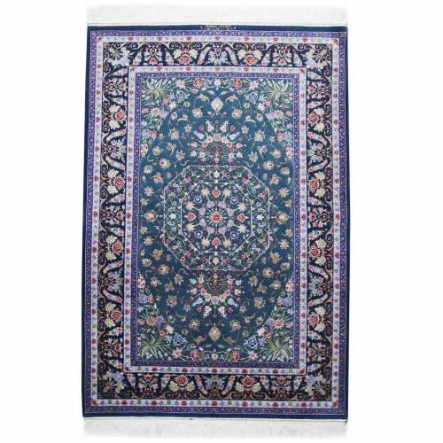 فرش دستبافت ابریشمی سه متری اثر  رضاپور کد 182046