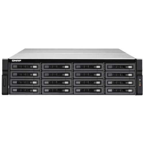 ذخیره ساز تحت شبکه کیونپ مدل TVS-EC1680U-SAS-RP-8GE-R2