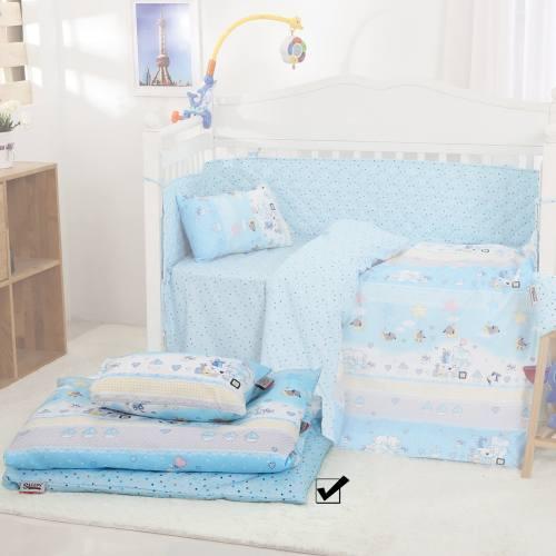 سرویس نوزادی 3 تکه طرحSTAR AND GIFT   اسلیپی