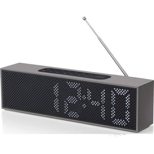 رادیو ساعت تیتانیومی لکسون مدل LA83