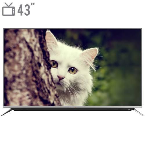 تلویزیون ال ای دی هوشمند دوو مدل DUHD-43H7000-DPB سایز 43 اینچ