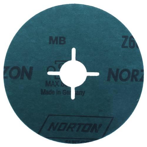 ورق سنباده زیرکونیم 25 عددی نورتون قطر 115 میلیمتر