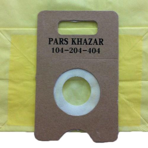 کیسه جاروبرقی پارس خزر مدل-104-204- 404 بسته 5 عددی