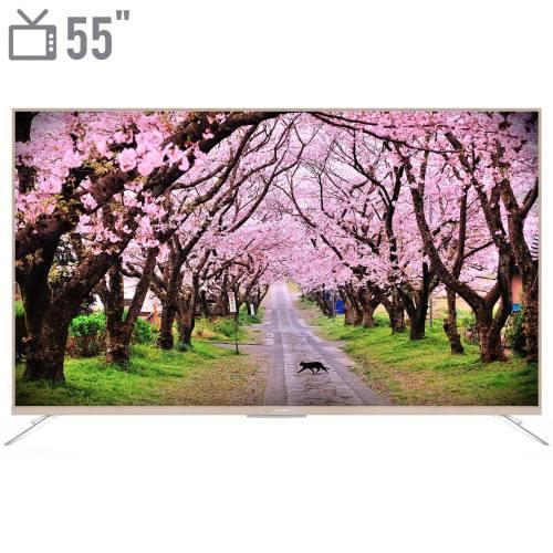 تلویزیون ال ای دی هوشمند ایکس ویژن مدل 55XTU815 سایز 55 اینچ
