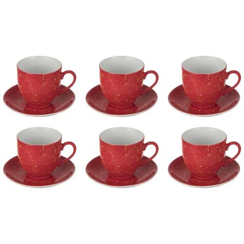 ست فنجان و نعلبکی 12 پارچه تاپاس کد 001