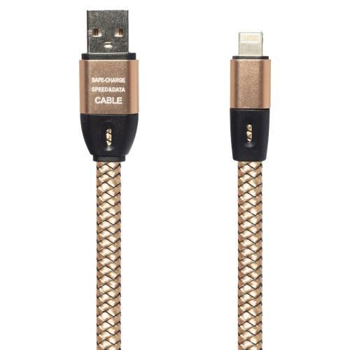 کابل تبدیل USB به لایتنینگ مدل Safe به طول 100 سانتی متر