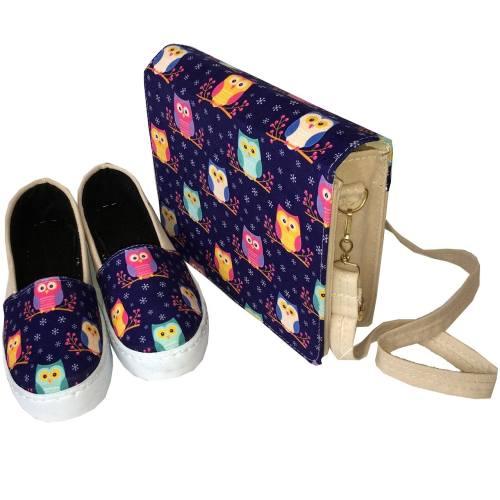 ست کیف و کفش زنانه مدل Gufo B010