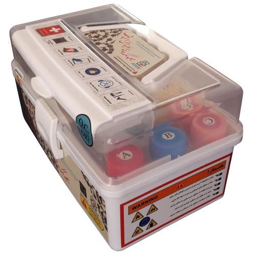 جعبه کمک های اولیه  فرش دستباف مدل 96035 مجموعه لکه برها