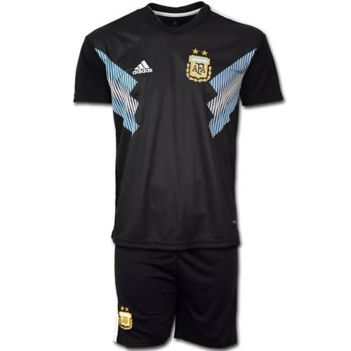 پیراهن و شورت تمرینی تیم ملی آرژانتین طرح دوم جام جهانی 2018