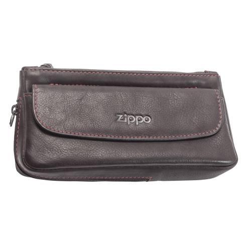 کیف پیپ چرم طبیعی زیپو مدل 2005426