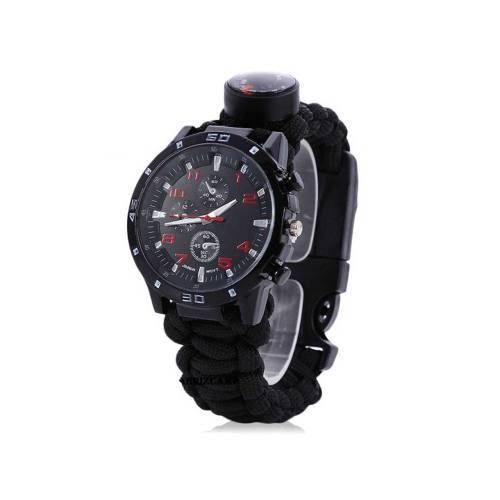 ابزار نجات طرح ساعت مچی مدل Paracord Watch