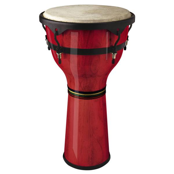 جیمبی استگ مدل DWM-10-R | STAGG  DWM-10-R Wooden Djembe 10 inches