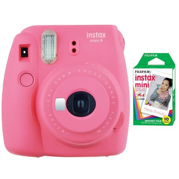دوربین عکاسی چاپ سریع فوجی فیلم مدل Instax Mini 9 به همراه  فیلم مخصوص | Fujifilm Instax Mini 9 Instant Camera With Mini Film
