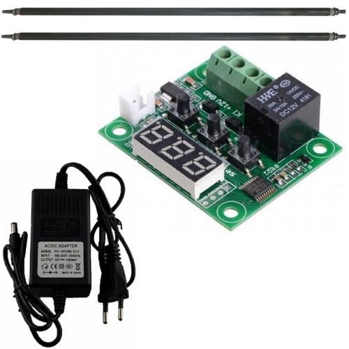 کیت کنترلر دمای دیجیتال به همراه المنت و آداپتور - مونتاژ شده