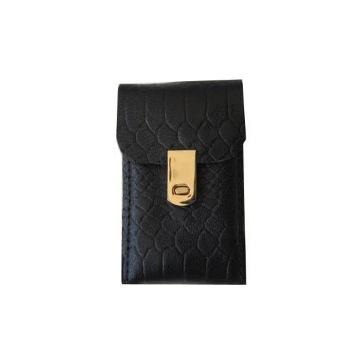 کیف سیگار چرم طبیعی دستدوز مژی مدل QT2