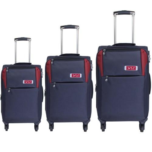 مجموعه سه عددی چمدان ال سی مدل A161-8