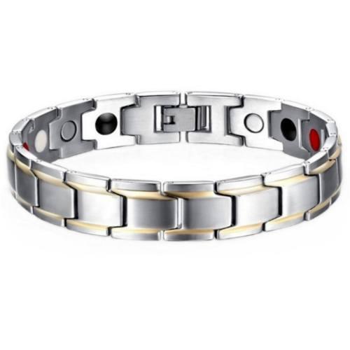 دستبند مغناطیسی اورجینال داتیس مدل silver 102
