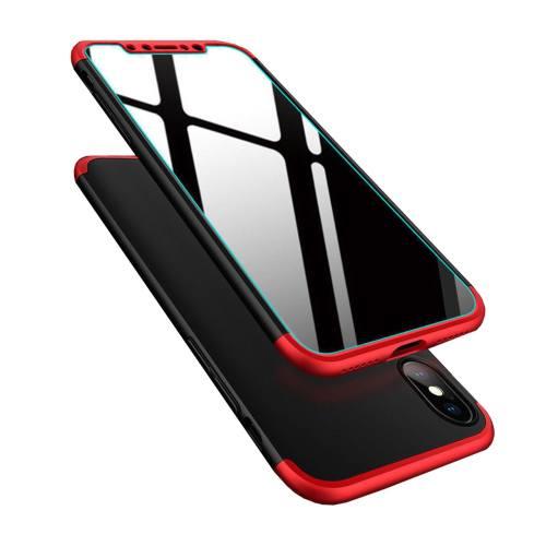 کاور به همراه محافظ صفحه نمایش پروویژن مدل TOP Case مناسب برای گوشی اپل iphone X