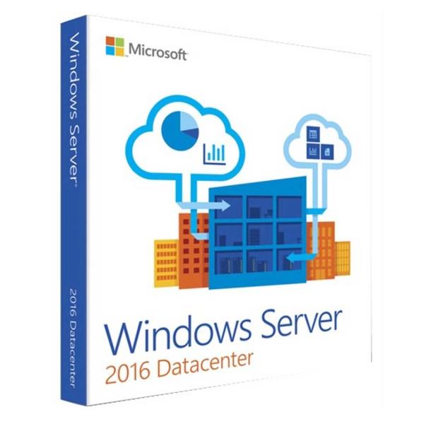 نرم افزار مایکروسافت ویندوز سرور 2016 نسخه دیتا سنتر ریتیل | Windows server 2016 DataCenter Retail