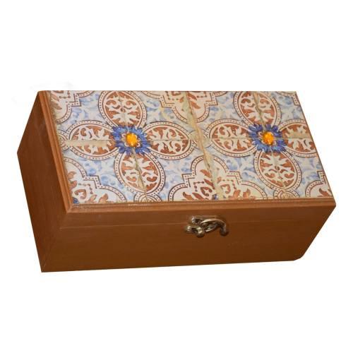 جعبه جواهرات بهار طرح سروناز مدل 006