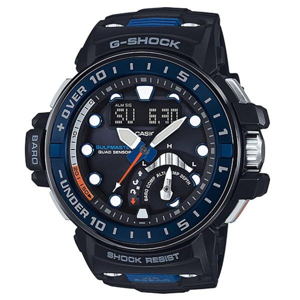 ساعت مچي عقربه اي مردانه کاسيو جي شاک مدل GWN-Q1000MC-1A2DR   Casio G-Shock GWN-Q1000MC-1A2DR Watch For Men