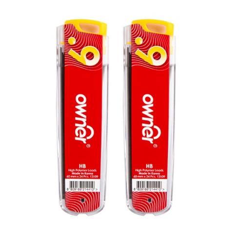 نوک مداد نوکی 0.9 میلیمتری اونر مدل High Polymer طرح 6 - بسته 2 عددی